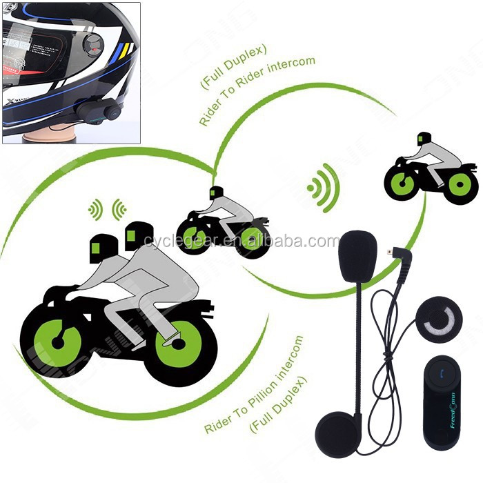 100 mt bluetooth motor bike helm intercom bt kopfh rer tom. Black Bedroom Furniture Sets. Home Design Ideas