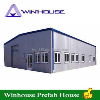 Metal Frame Workshop Prefabricated Steel Structure Warehouse Low ...