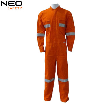 fr flame resistant coverall for oil and gas industrial protective clothing