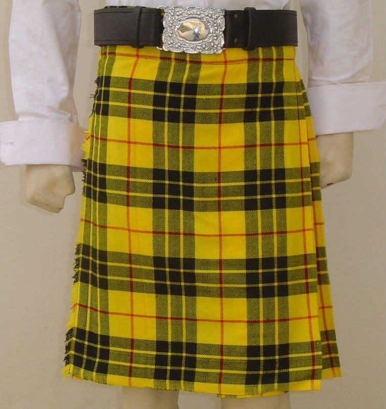 """Kilt écossais tartan Mackenzie avec deux boucle casual kilt taille 34 /"""""""