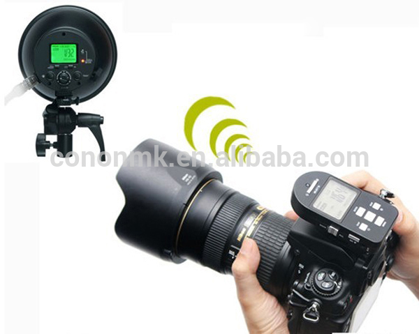 portable wireless flash light N series studio strobe photographic equipment of CE and ISO9001 standard