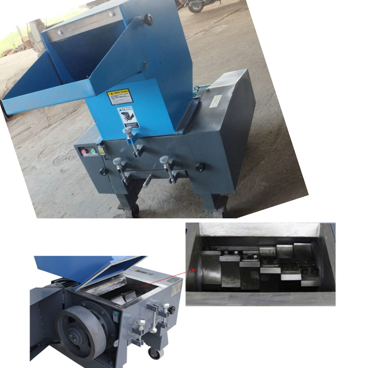 Best selling single shaft automatic bottle plastic crusher