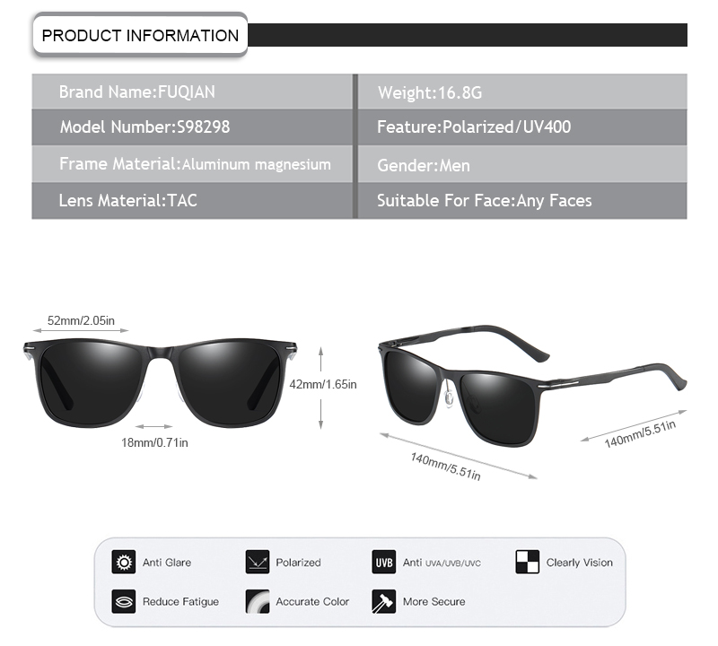Fuqian what does polarized mean manufacturers for men-9