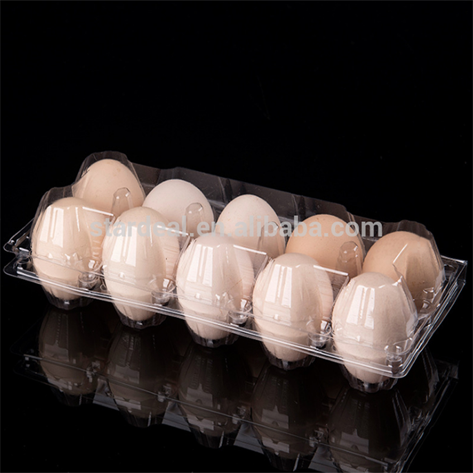 Plastic egg tray cartons packaging egg box crate 6 12 18 20 24 30 holes