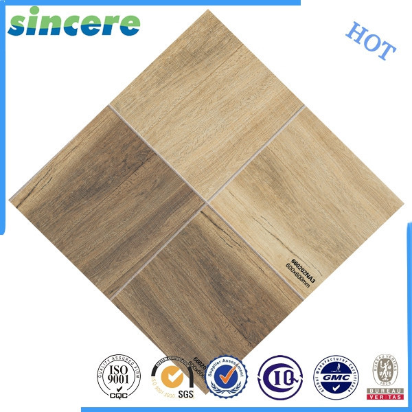 Floor ceramic wood grain tile in foshan lanka wall tiles prices