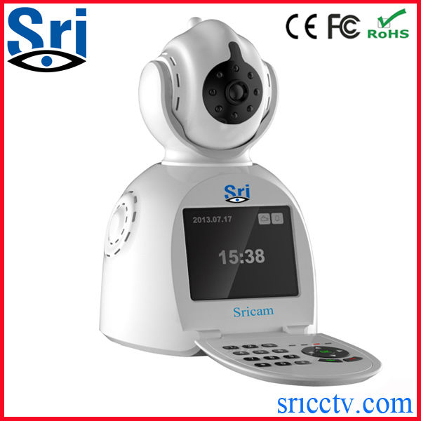 Sricctv Support Battery Power Free Video Call P2P IP Camera parts for video cameras