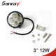 12v 24v offroad 12w led worklight with IP67, CE, RoHS