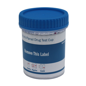 Easy use oem clia waived 12 panel urine cup drug and alc test