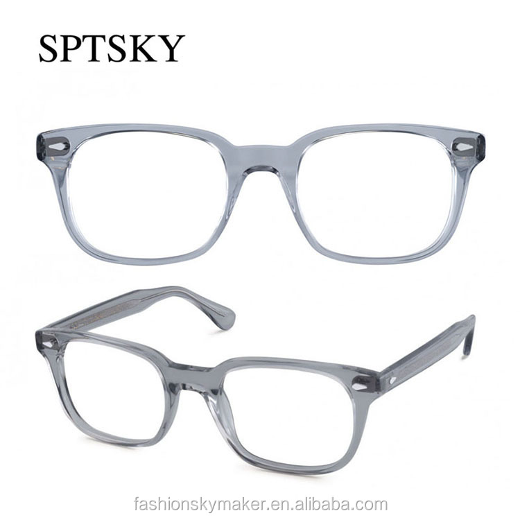 Purple transparent frames optical frames eyeglasses acetate.