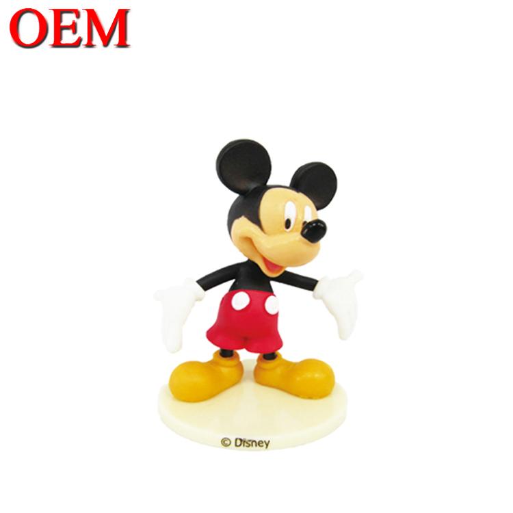 Oem Mini Pvc Mickey Minnie Mouse Figure For Kids Buy Customized