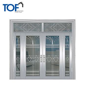 Modern Security Door Design Price Of Stainless Steel Main Door Frame Metal  Main Door