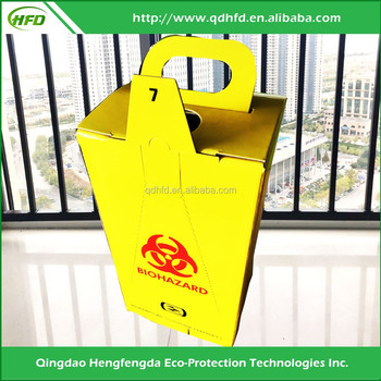 Environmental Protection Cheap Medical Safety Box For Sharps