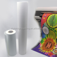 2017 get well supply good quality custom heat transfer paper rolls textile printing