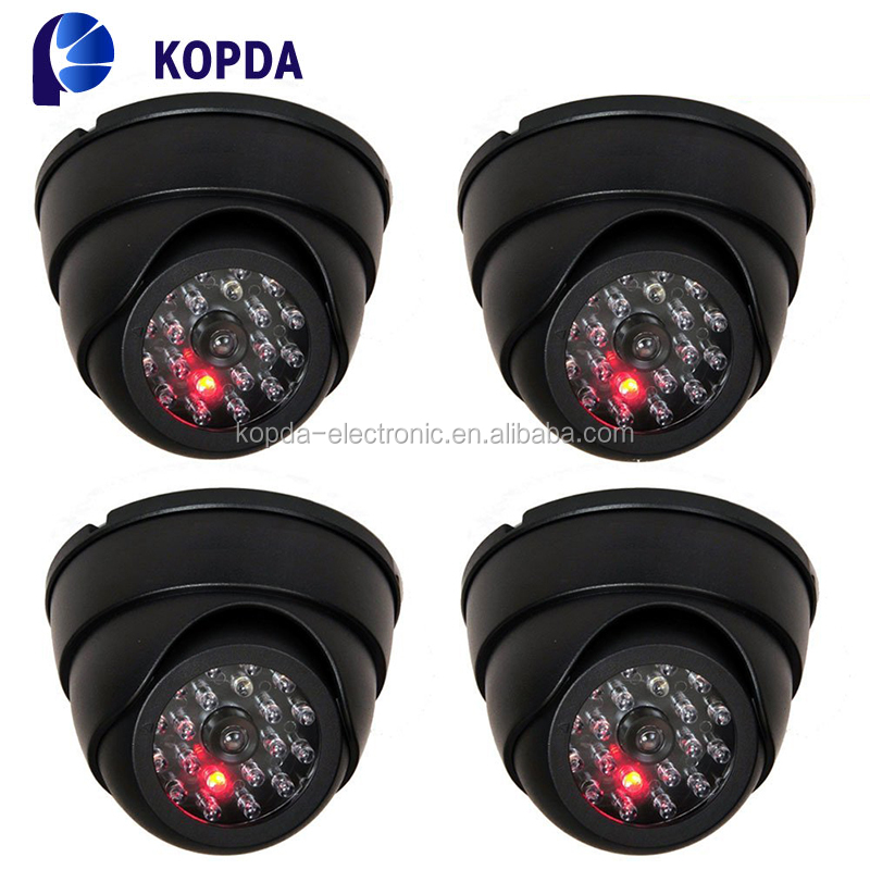 support 2x AAA battery fake dummy security cctv dome camera