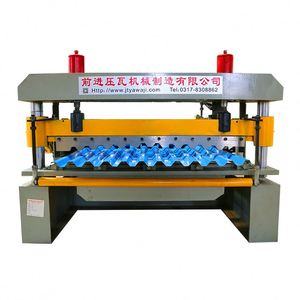 galvanized color steel metal corrugated roll forming machine for roof use