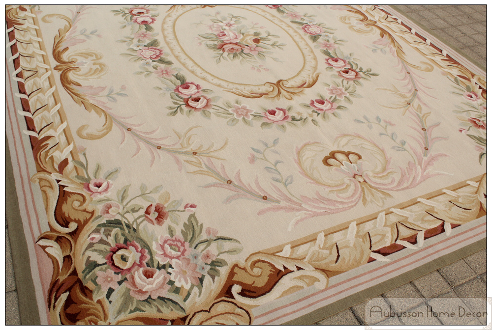 Aubusson Wool Rugs Home Decor