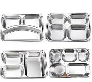 Stainless Steel Kids Bento Lunch Box With Lock