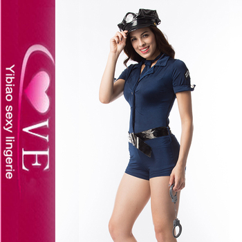 Hot Sexy Police Uniform Adult Women Officer Cosplay Costume With Hat  sc 1 st  Wholesale Alibaba & Hot Sexy Police Uniform Adult Women Officer Cosplay Costume With Hat ...