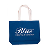 Promotional Foldabale Recycled Cotton Canvas Wholesale Tote Bag