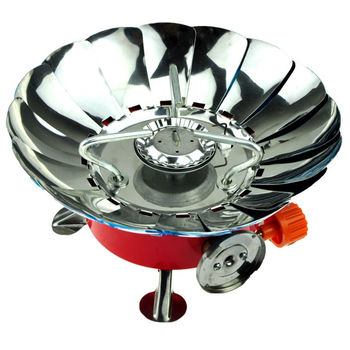 Outdoor camp equipment portable gas stove cooker hiking stove