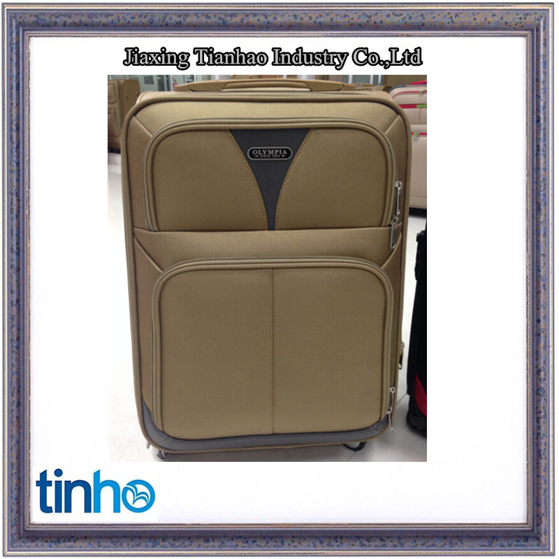 Decent PP laptop case, trolley case, eminent trolley verage suitcase with wheel luggage