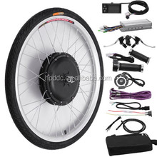 20-28 inch gearless hub motor rear wheel 15Ah lithium battery 1500w electric bike kit