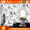 Korea 3d Natural Beautiful Blue Flower Wallpaper For Living Rooms Walls