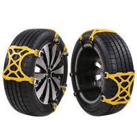 High quality plastic safty snow tire chains for passenger car with Good Price