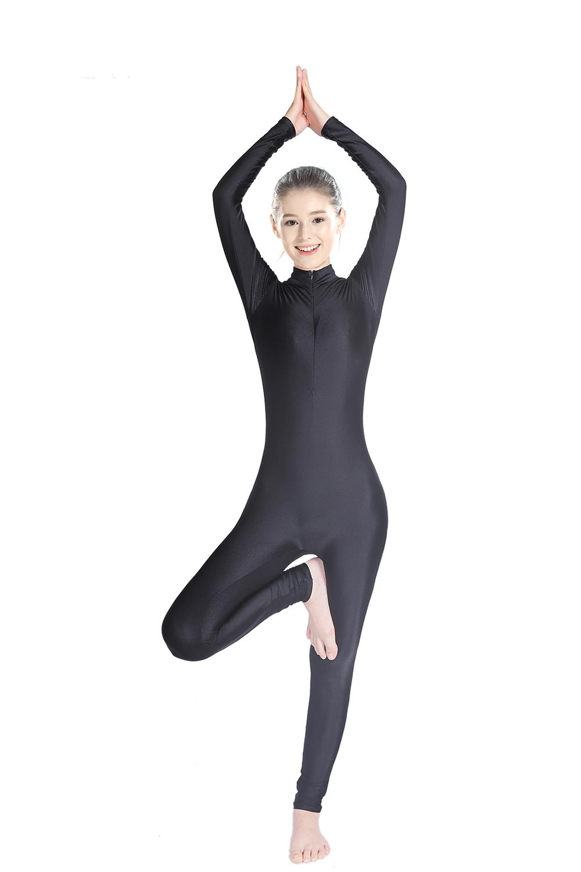 SPEERISE Adult Dance Long Sleeve Unitard forWomen Spandex ...