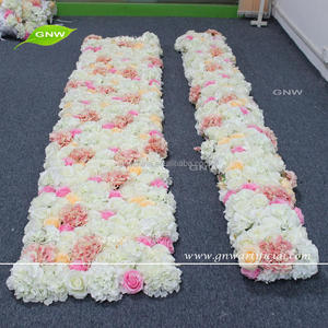 GNW FLW1707008 Artificial flower for wall decoration indian wedding flower garland