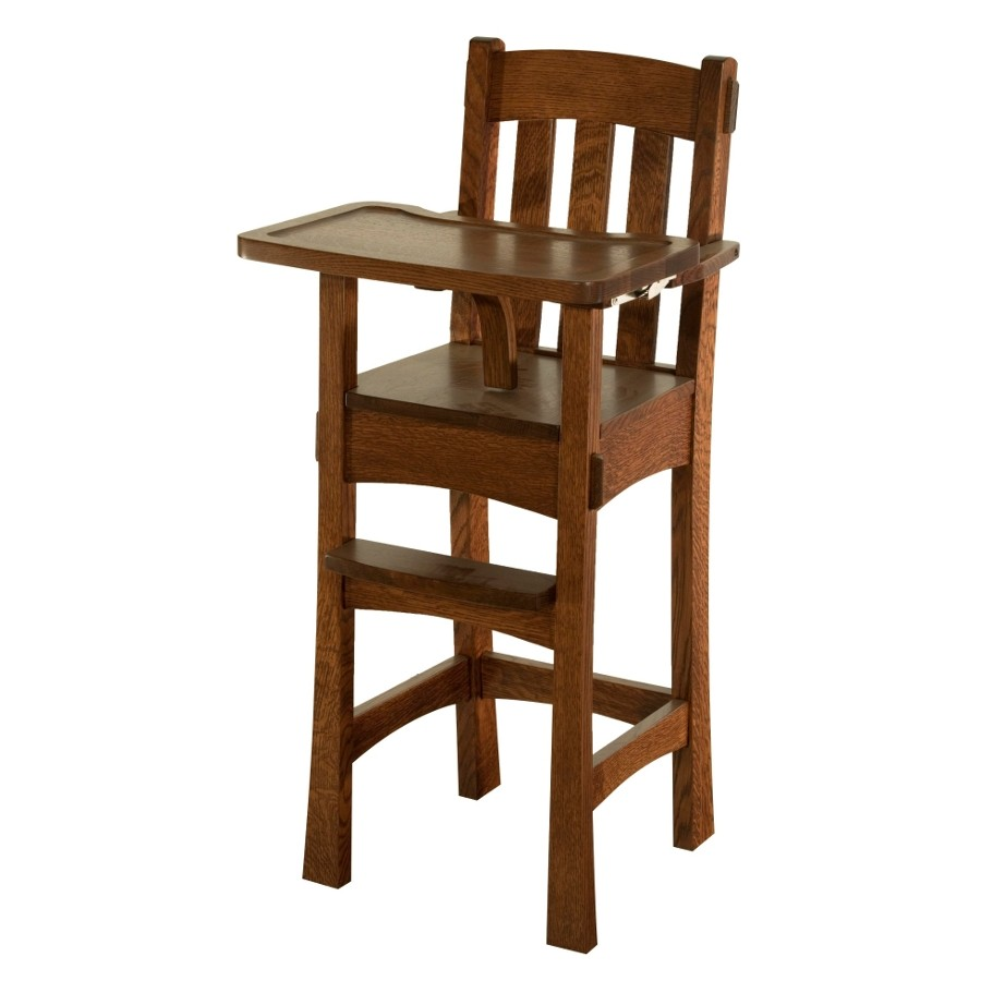 Wood Baby High Chair Furniture Chairs Seating