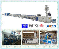 JWELL - PE/PPR composite pipe 63 plastic extruder machinery pvc three layer pipe production line
