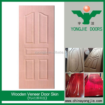 New Design Wooden Door For Bedroom/Wood Veneer Door Skin/Ventilated Interior  Door