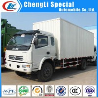 1ton 2ton 3ton 5ton Dongfeng mini van Truck 4*2 food transport Van Truck for sale