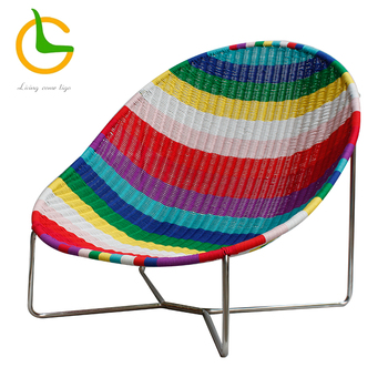 New design oval egg garden rattan acapulco chairs