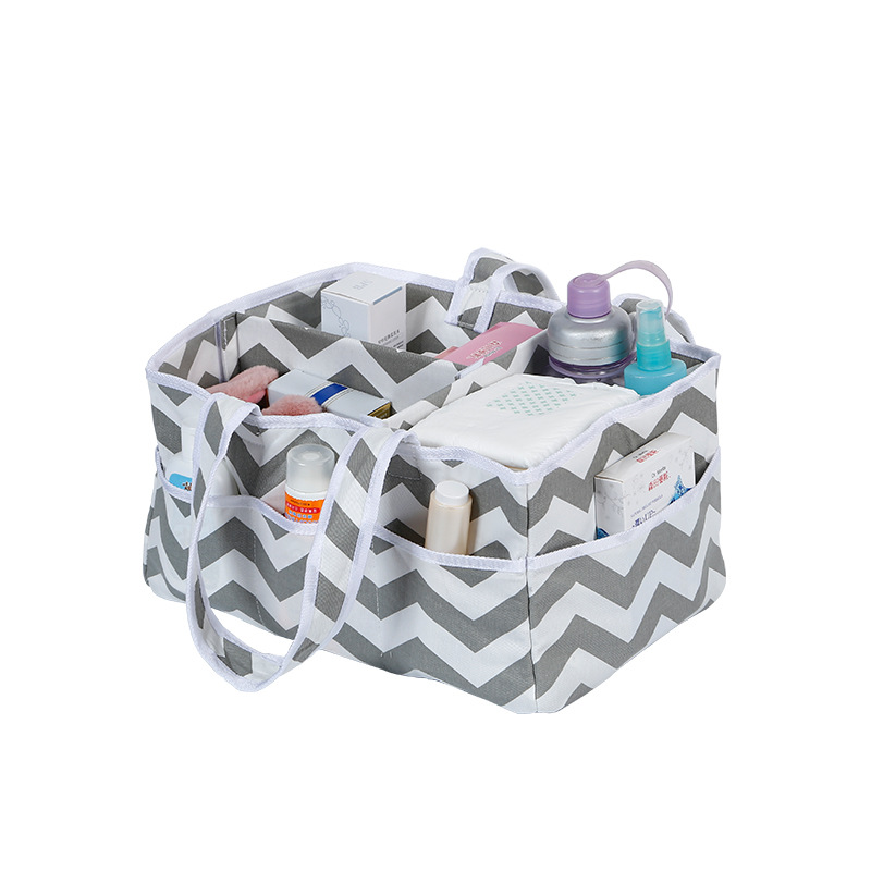 child products Household foldable baby diaper storage bag basket