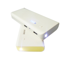 Led Flash Lighting 11000mAh External Charger Portable Battery Power Bank for Cell Phone and iPad