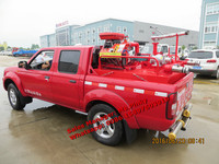 Nissan Pickup Water Fire Truck With Fire Pump For Sales