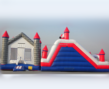 hot sale cheap juegos inflables/inflatable combo with slide F3005