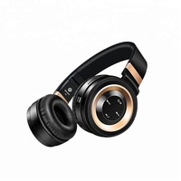 High quality BT wireless over ear headphones foldable stereo headset for cell phone OS-H827