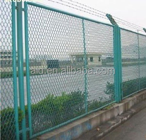 Galvanized and powder coated assembled small garden fence/Garden border pvc coated peach post welded wire mesh fence with folds