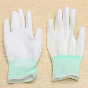 BephaMart 1 Pair XINGYU PU508 13Gauge Nylon Nitrile Anti-static Palm Coated Work Safety Gloves Shipped and Sold by BephaMart