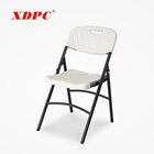 wholesale china cheap white party folding chairs for sale