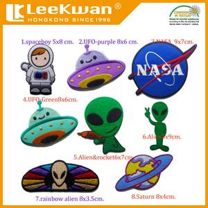 China custom made 3D embroidery patches