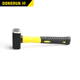 2018 wholesale rubber mallet sledge stone hammer camping stoning dead blow hammer