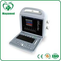 MY-A027 Good quality promotion hospital diagnostic equipment 3d coloured portable ultrasound machine