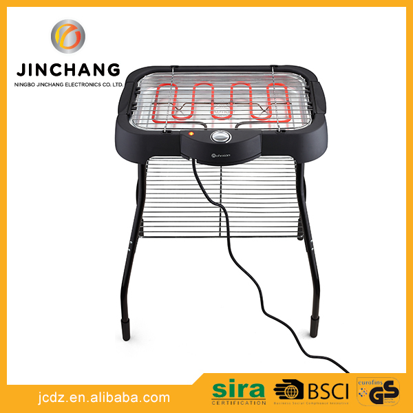 New arrival professional indoor charcoal electric barbecue grill with grill stands