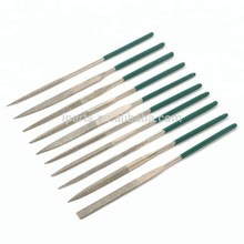 "10 Pcs 5.5"" 140mm Diamond Mini Needle Files Set Handy Tools For Ceramic Glass Stone Jewelers Wood Carving Hobbies Crafts"