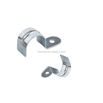 Conduit Pipe Saddle Clamp Strap With One Hole - Buy Conduit Pipe Saddle  Clamp,Conduit Pipe Saddle Clamp Strap,Pipe Saddle Clamp With One Hole  Product