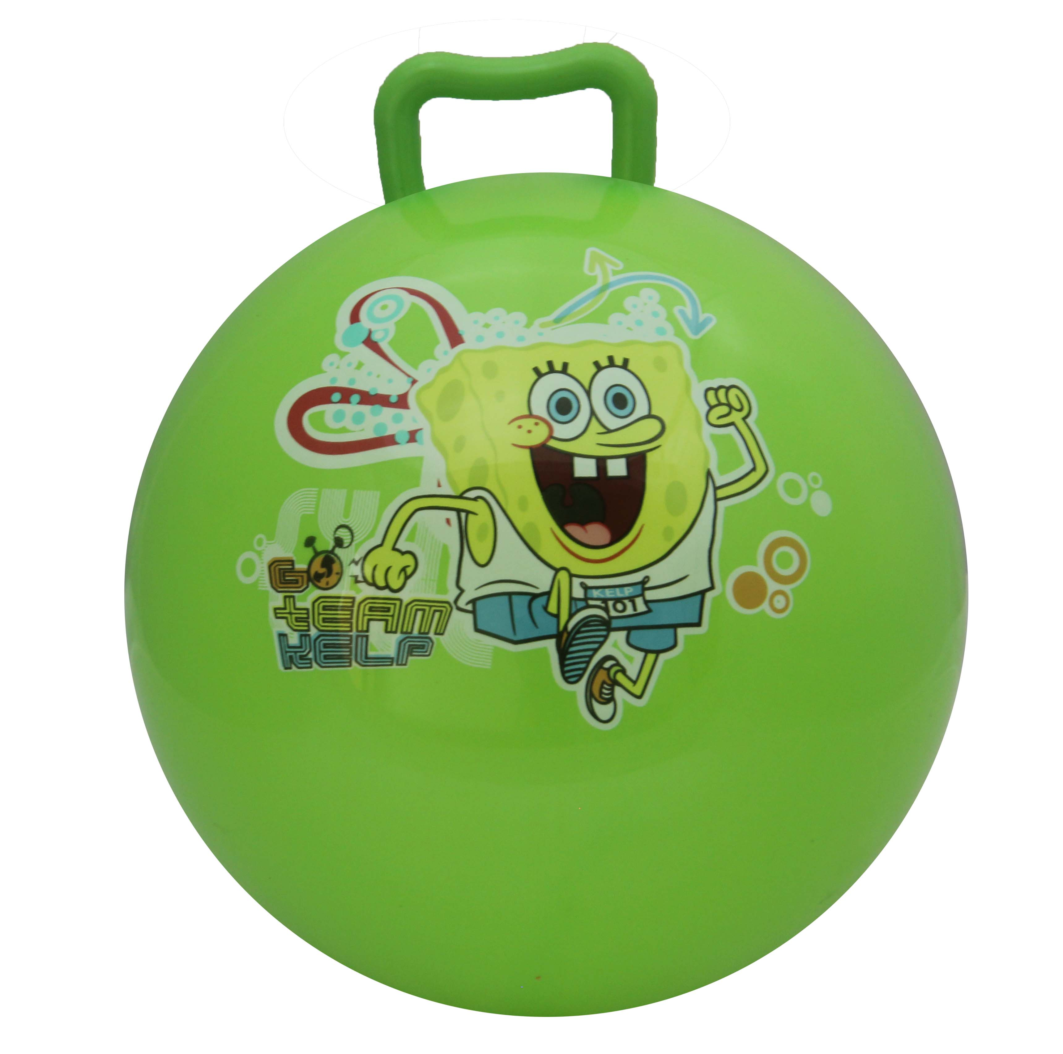 10inch High Quality & Durable Hopper Ball with Handle For Kids